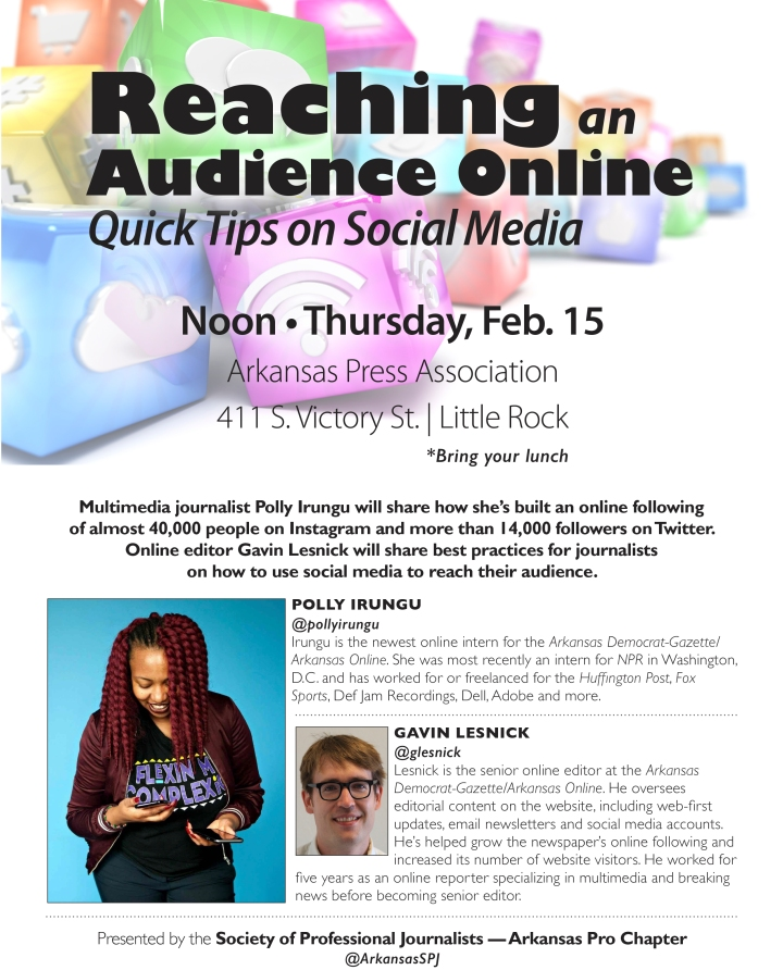 Reaching an Audience Online: Quick Tips on Social Media