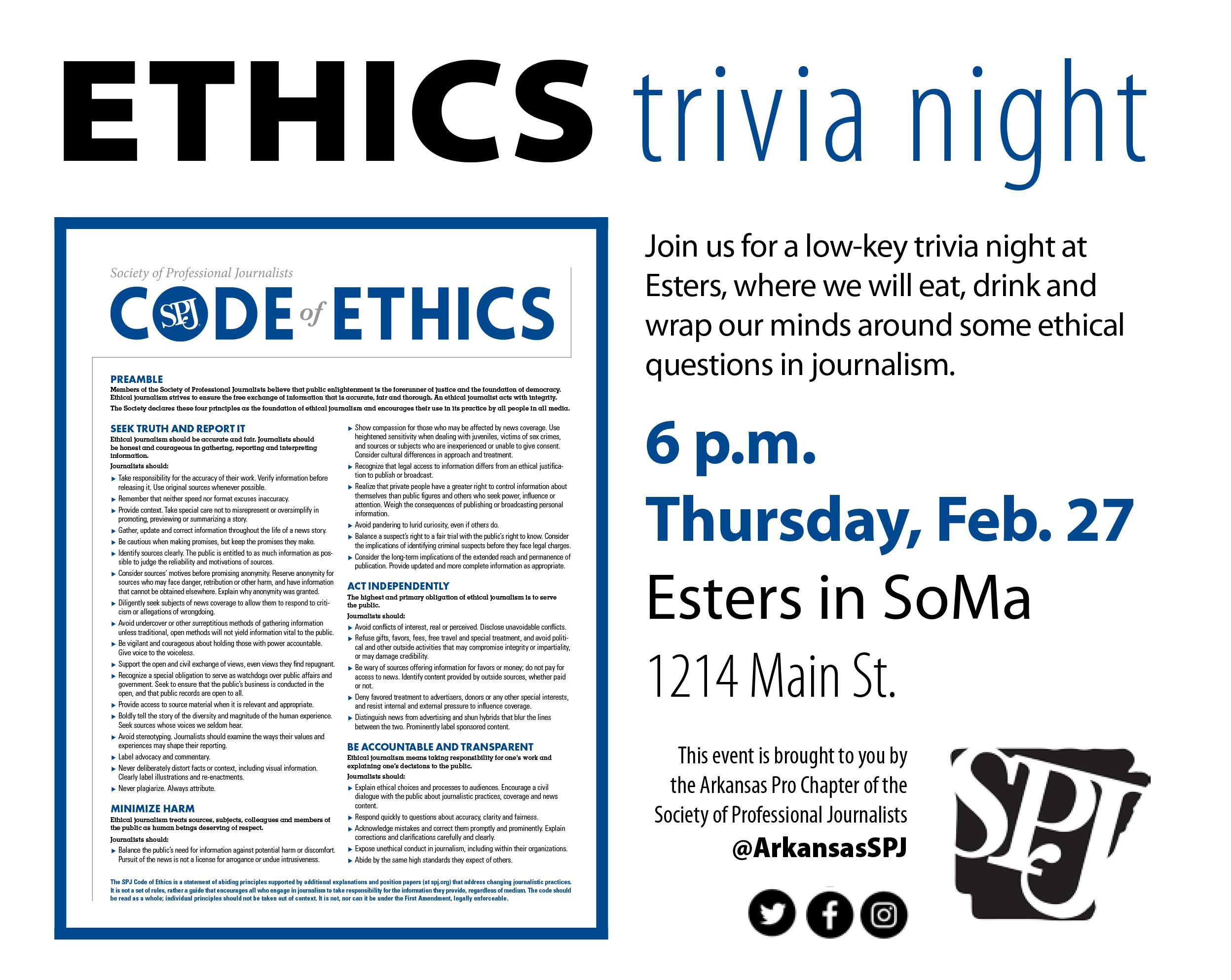 Ethics Trivia